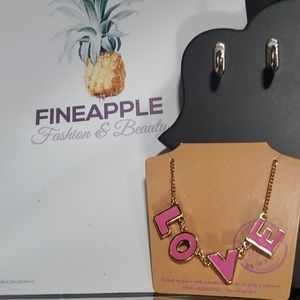 """3/$20 """"LOVE"""" Necklace"""